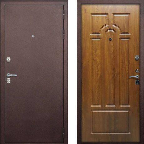 Фото двери ДМ 7 4-х контурная Дуб золотой