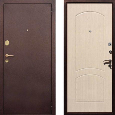 Фото двери ДМ 1А Беленый Дуб