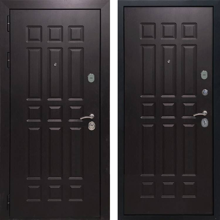 Фото двери ДМ 8 Венге