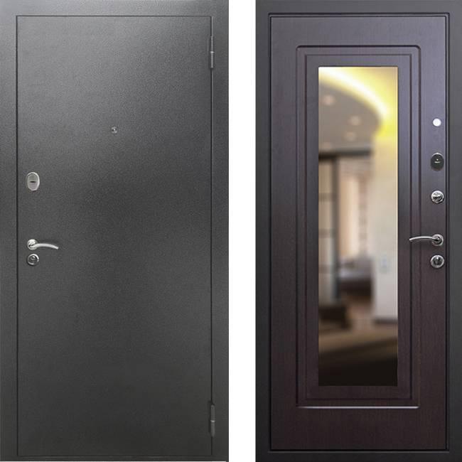 Фото двери ДМ 2A Зеркало Венге