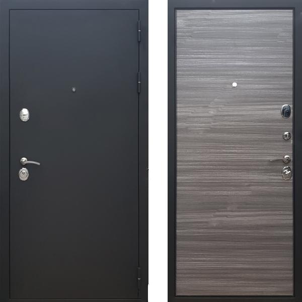 Фото двери ДМ 5 Сандал серый горизонт