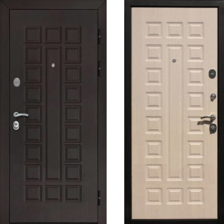 Фото двери ДМ Гладиатор CISA Беленый дуб