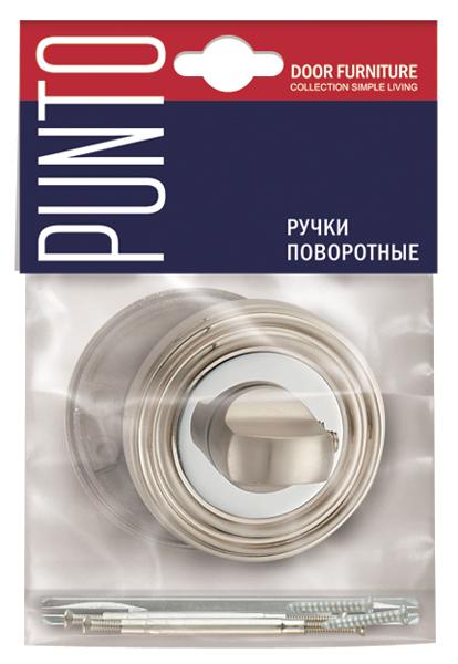 Фото двери Ручка Punto (Пунто) поворотная BK6 ML