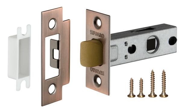 Фото двери Защелка Fuaro (Фуаро) врезная PLASTIC P12-45-25