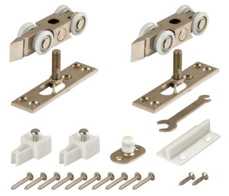 Фото двери Комплект Armadillo (Армадилло) роликов для раздвижных дверей DIY Comfort 80/4 kit (877 882)