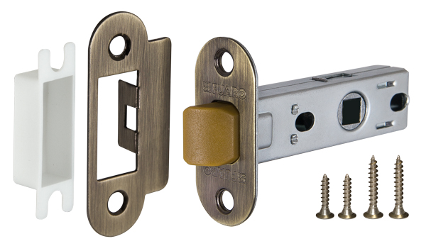 Фото двери Защелка Fuaro (Фуаро) врезная PLASTIC P22-45-25