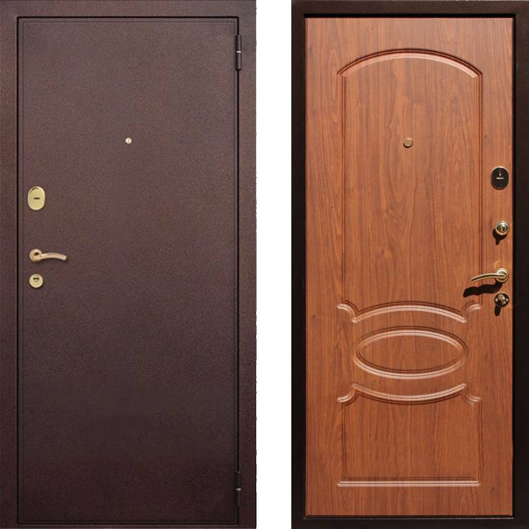 Фото двери ДМ 2 Орех