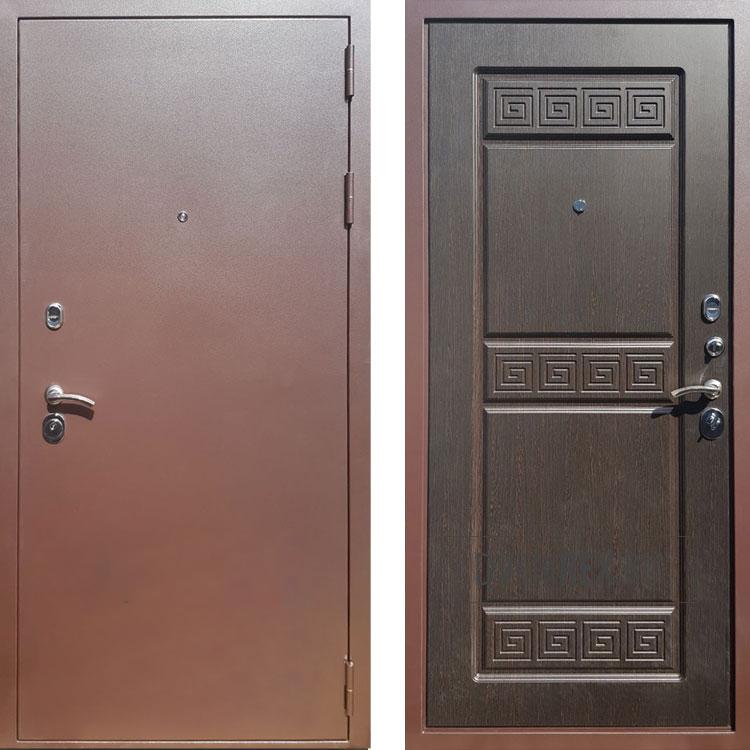 Фото двери ДМ Троя 3К Венге