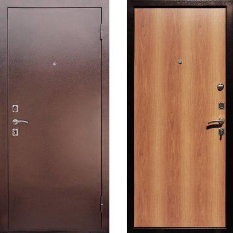 Фото двери ДМ Эконом Миланский Орех