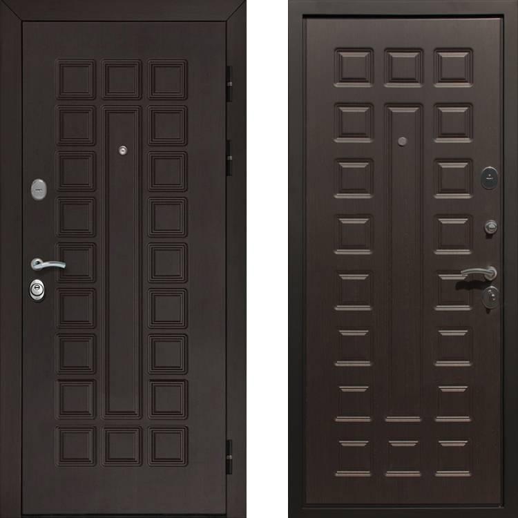 Фото двери ДМ Гладиатор CISA Венге