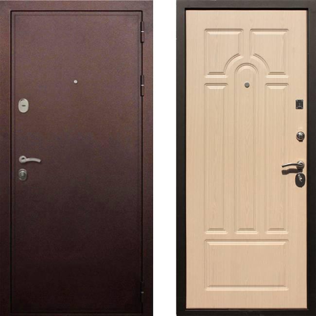 Фото двери ДМ 5А Беленый дуб