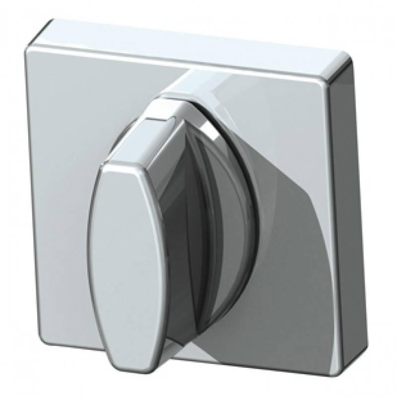 Фото двери Ручка поворотная WC-BOLT 3