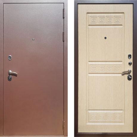 Фото двери ДМ Троя 3К Беленый дуб