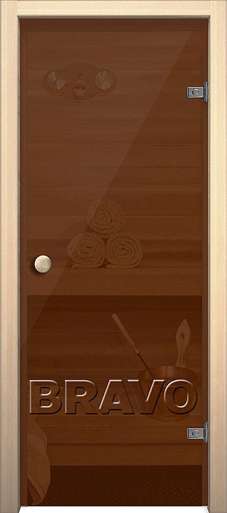 Фото двери Кноб Е Бронза тонированное