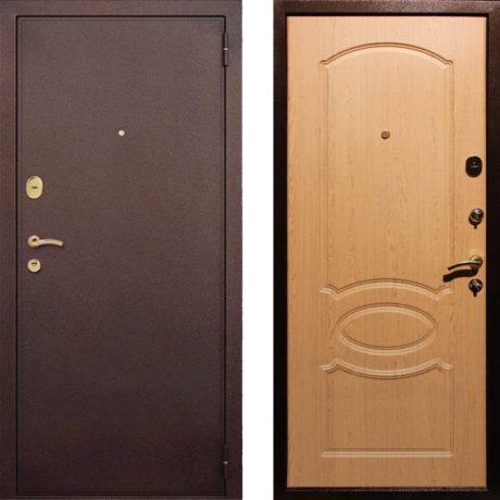 Фото двери ДМ 2 Дуб светлый
