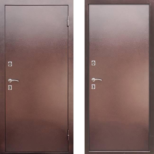 Фото двери ДМ Металл/Металл