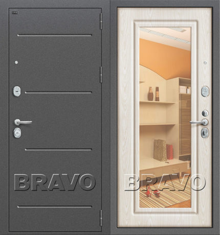 Фото двери Р2-206 П-25 (Беленый Дуб)