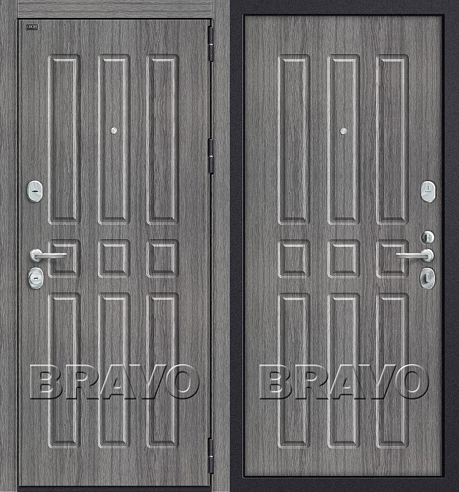 Фото двери Р3-303 П-27 (Серый Дуб)