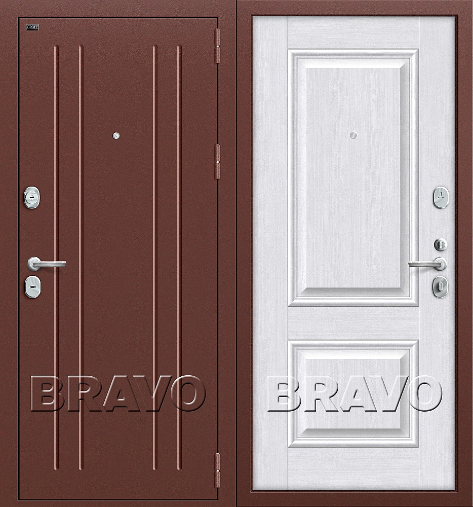 Фото двери T2-232 Milk Oak