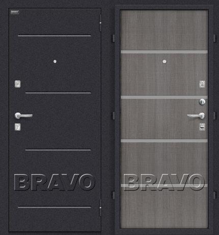 Фото двери Лайн Grey Crosscut