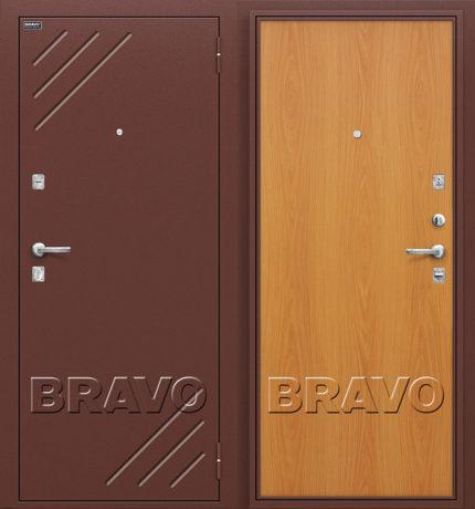 Фото двери Стандарт М-12 (МиланОрех)
