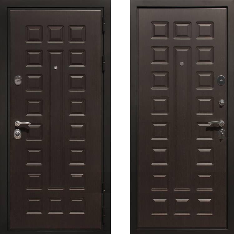 Фото двери ДМ Премиум 3 Венге