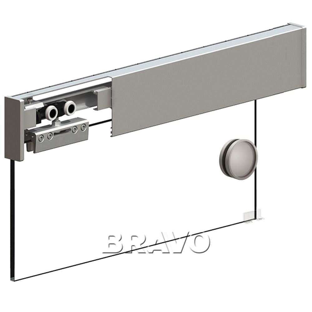 Фото двери Раздвижная система Herkules Glass 2000 Серебро