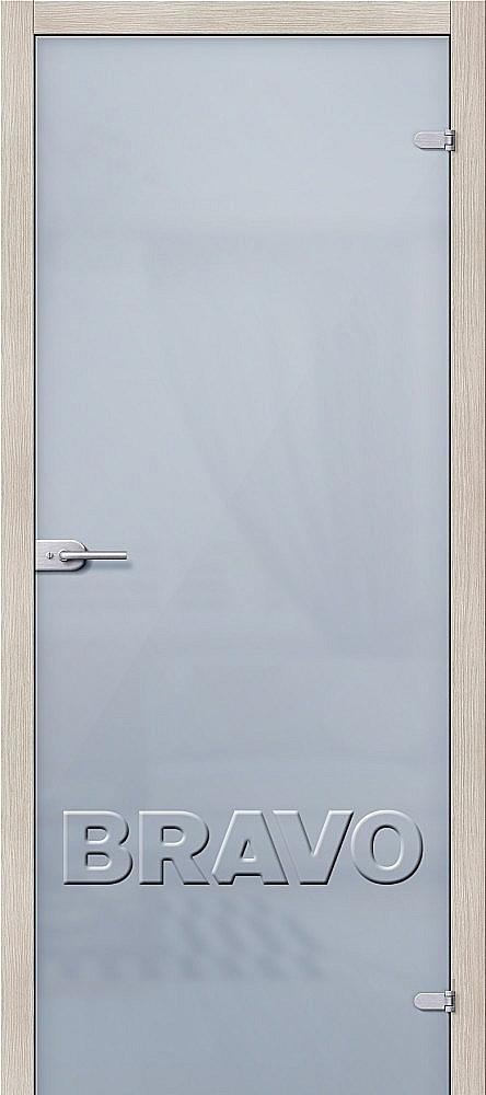 Фото двери Лайт Белое Сатинато