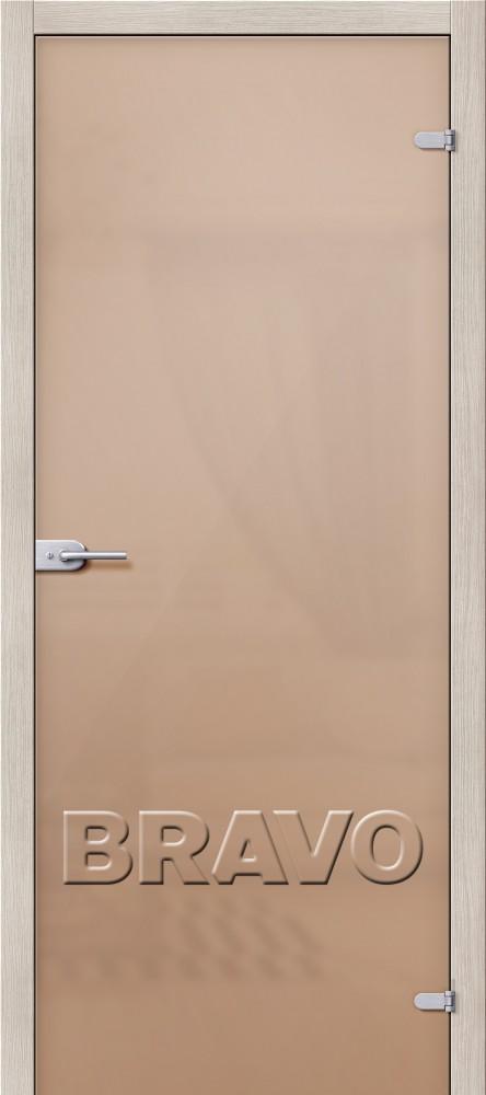 Фото двери Лайт Бронза Сатинато