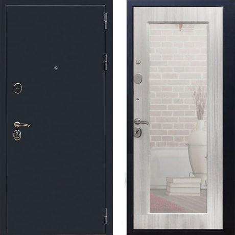 Фото двери ДМ 5А Зеркало Пастораль Ясень белый