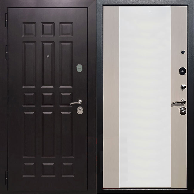 Фото двери ДМ 8 СБ-16 Лиственница беж