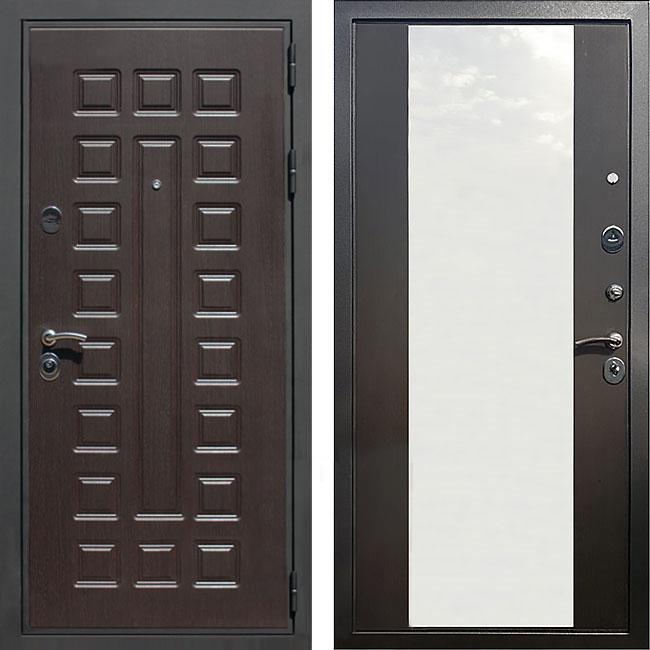 Фото двери ДМ Премиум 3 CБ-16 Венге