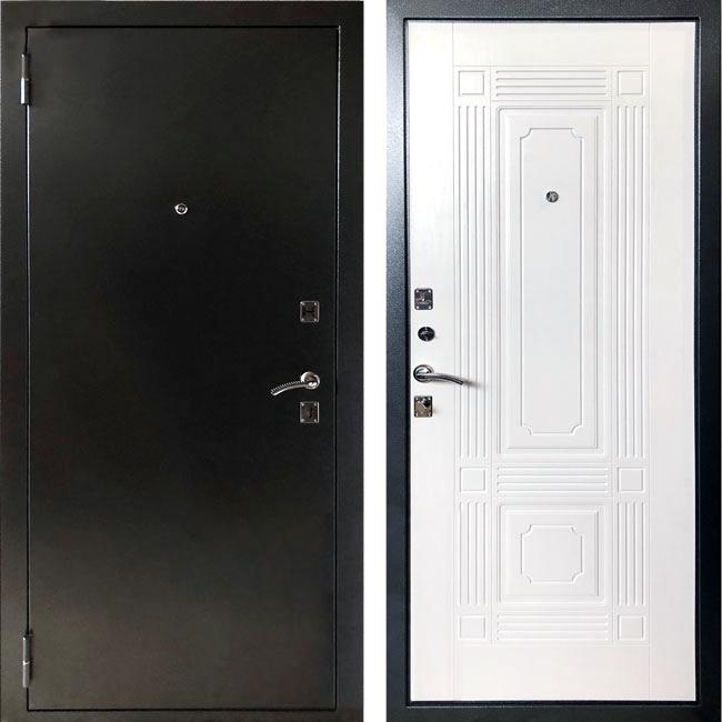 Фото двери ДМ 1 ФЛ-2 белый ясень