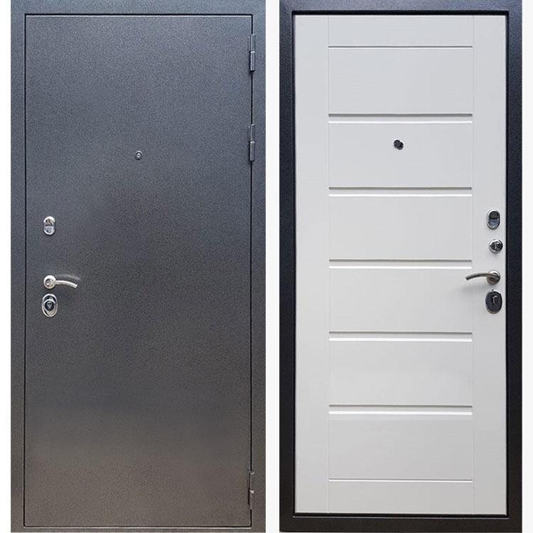 Фото двери ДМ 11 Белый ясень