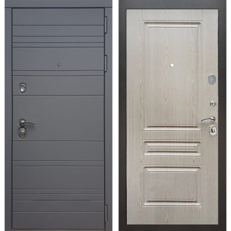 Фото двери ДМ 14 ФЛ-243 Беленый дуб