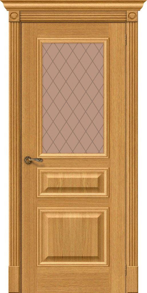Фото двери Вуд Классик-15.1 Bronze Сrystal
