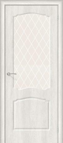 Фото двери Альфа-2 White Сrystal