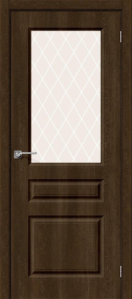 Фото двери Скинни-15 White Сrystal