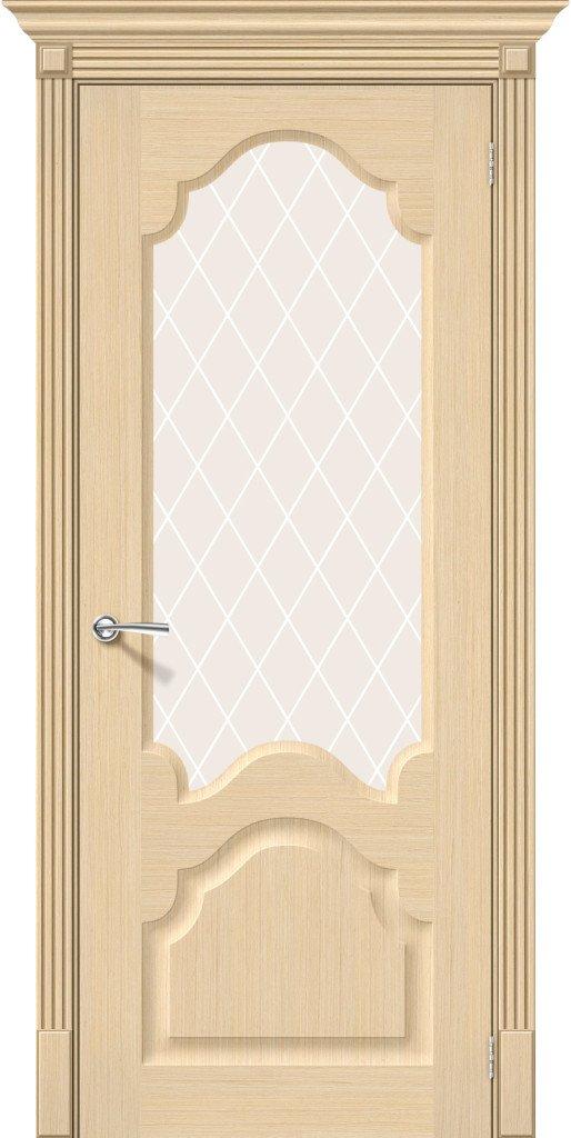 Фото двери Афина White Сrystal