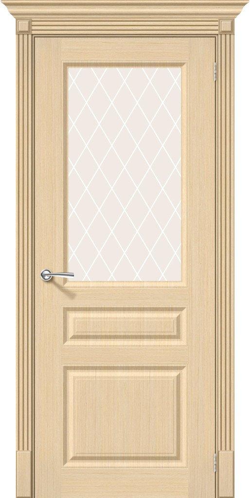 Фото двери Статус-15 White Сrystal