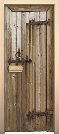 Фото двери Дерево