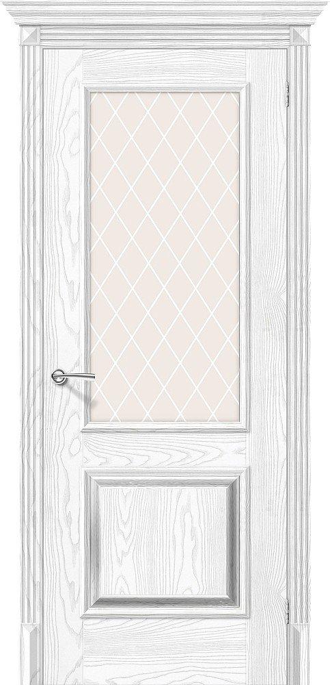 Фото двери Классико-13 White Сrystal