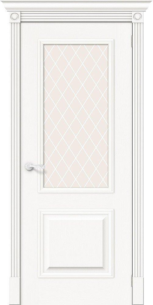 Фото двери Вуд Классик-13 White Сrystal