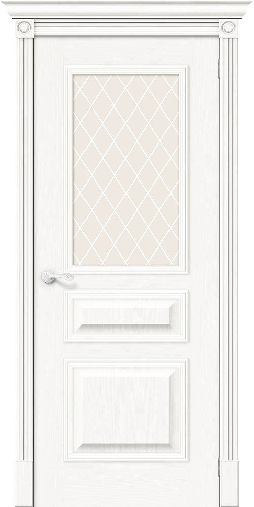 Фото двери Вуд Классик-15.1 White Сrystal