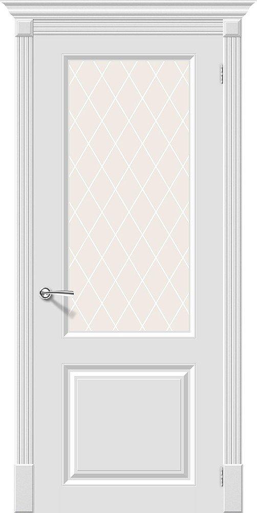 Фото двери Скинни-13 White Сrystal
