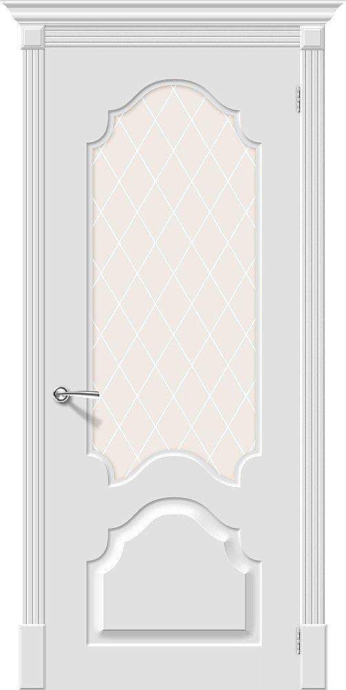 Фото двери Скинни-33 White Сrystal
